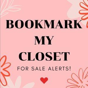 Bookmark My Closet!
